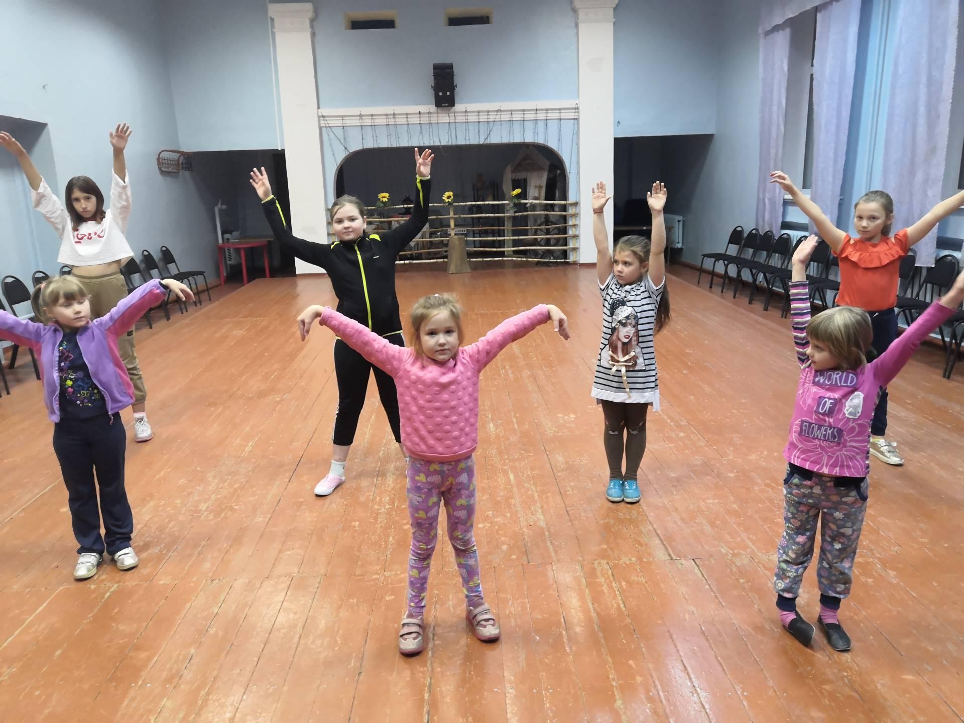 Танцевальный кружок  «Акварель»