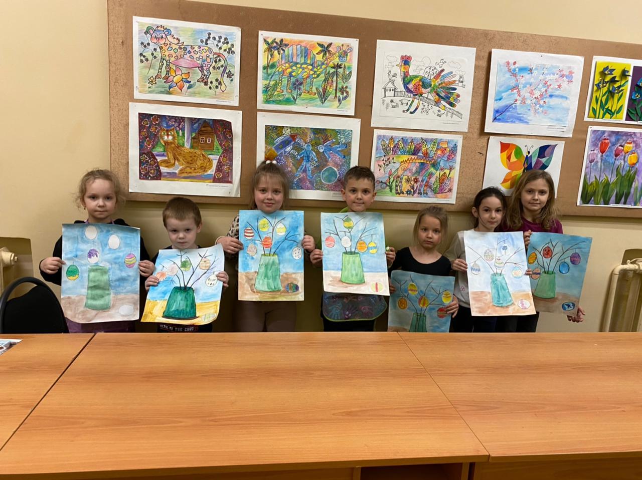 Детская художественная студия