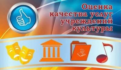 Независимая оценка качества работы учреждений культуры.