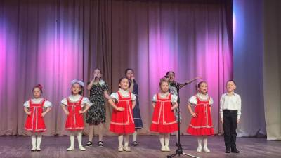 Детская вокальная студия «ФаСолька» - Руководитель Максимова Валерия Ивановна