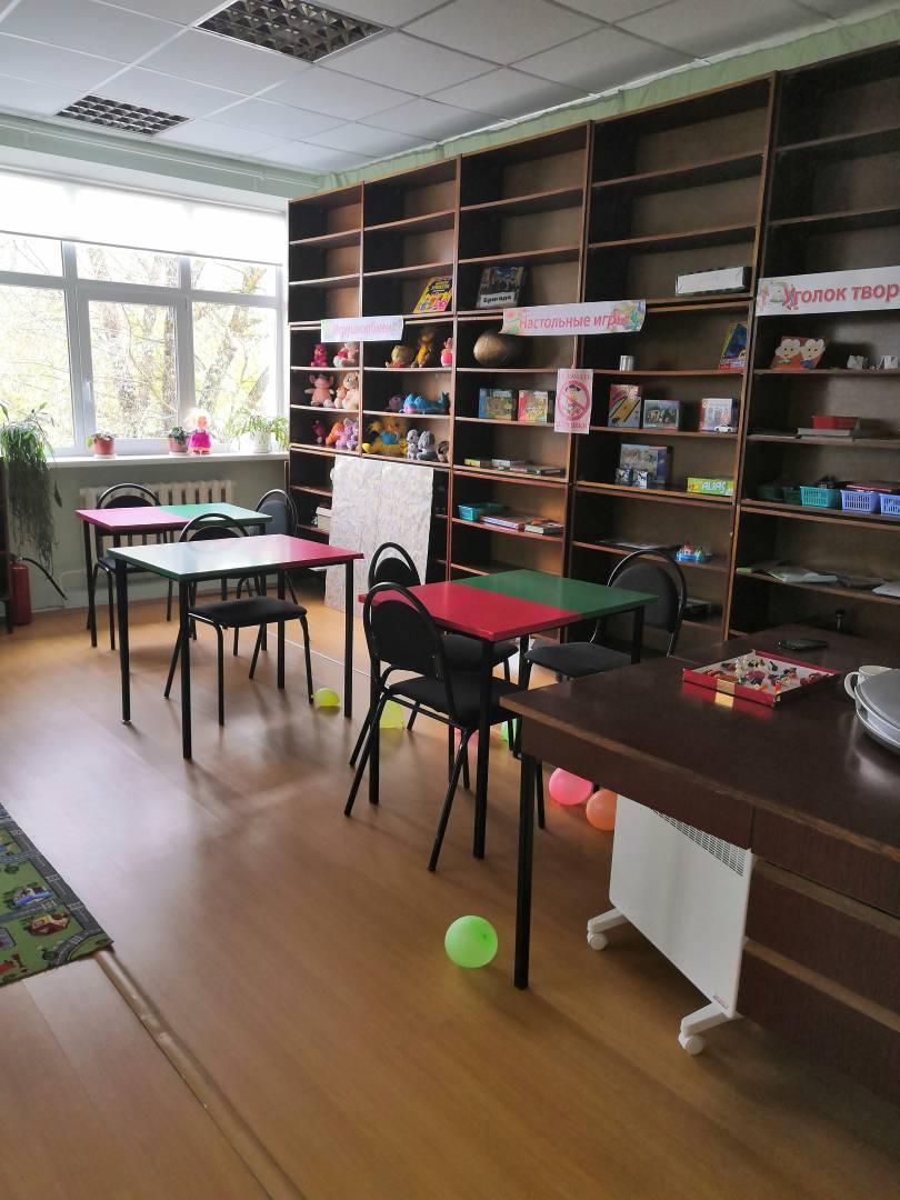 Комната игр и досуга для детей. От 6 до 17 лет.