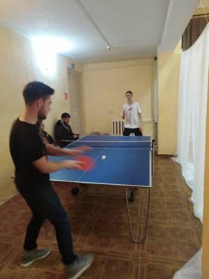 """Клубное формирование """"Любители настольного тенниса"""""""