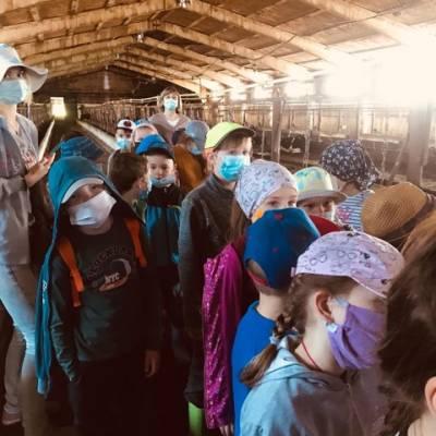 Экскурсия на животноводческий комплекс с. Рождествено