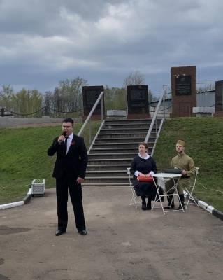 Митинг, посвящённый 76-летию Победы в ВОВ
