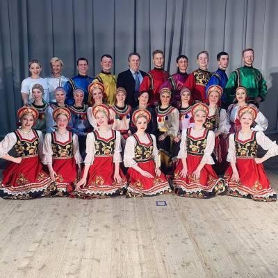 "Отчётный концерт Народного ансамбля танца ""Боярышня"""