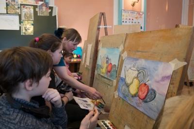 Студия детского творчества «Акварель»