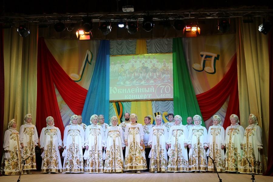Народный коллектив «Ансамбль песни и танца Глебовского Дома культуры»