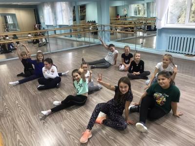 Кружок современного  танца «Импульс»